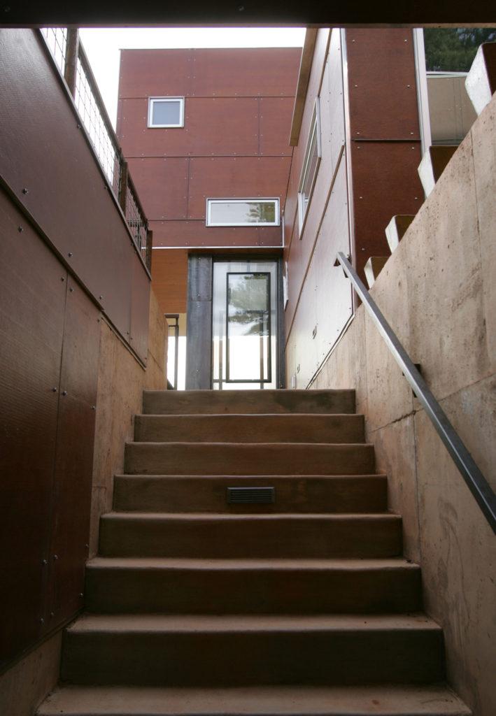 Box Exterior Stairs