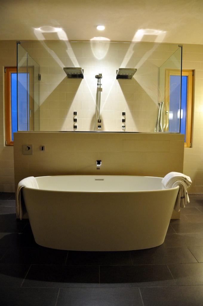 Alpine Tub Shower